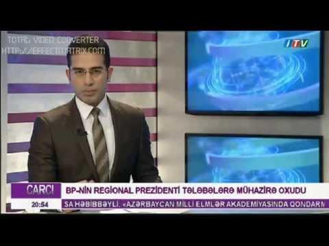 BP şirkətinin Prezidenti Gordon Birrell Qafqaz Universitetində seminar verdi_İctimai TV