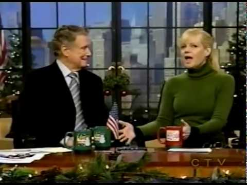 BONNIE HUNT has FUN with REGIS