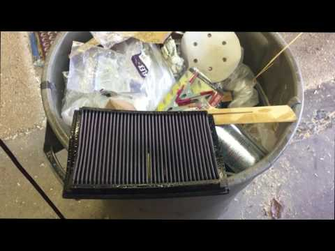 1 min video of how to clean a K and N Air Filter