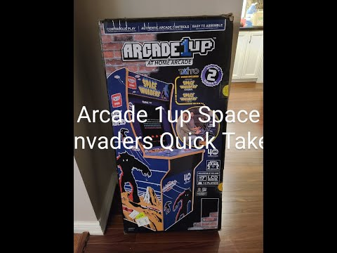 Arcade1up Space Invaders from 801 Arcade