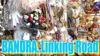 BANDRA, LINKING ROAD Shopping | Mumbai Budget Shopping | Street Shopping | Clothes, Bags, Shoes,