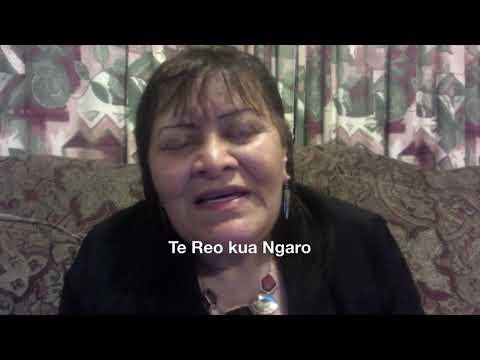 Te Reo kua Ngaro