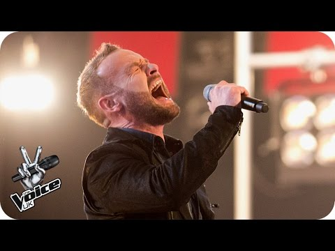 Kevin Simm performs 'Wings': Knockout Performance - The Voice UK 2016