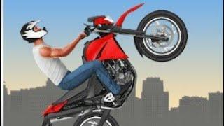 Moto wheelie