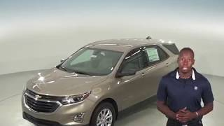 183007 - New, 2018, Chevrolet Equinox, SUV, Test Drive, Review, For Sale -