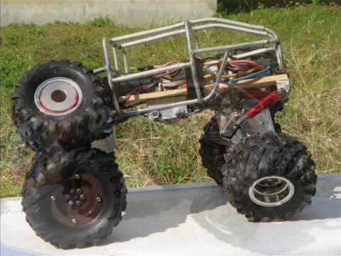 How designed and created RC Rock Crawler