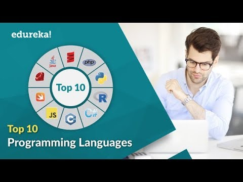 Top 10 Programming Languages Of 2017 | Which Programming Languages Should I Learn | Edureka