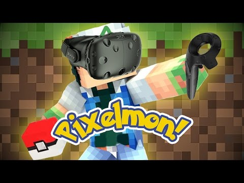 VIRTUAL REALITY PIXELMON!