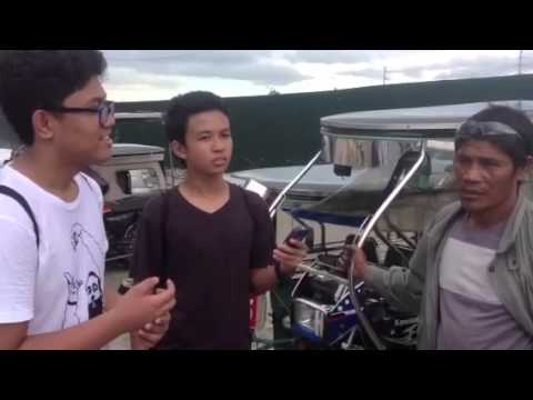 Interview of a tricycle driver by Traffic Alleviators