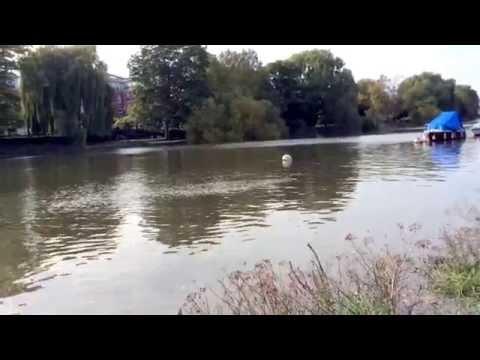 River Cruise Yatchs along Thames Riverside, Richmond Bridge, Richmond, West London