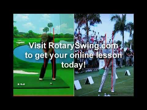 Online Golf Lesson w/ RotarySwing.com