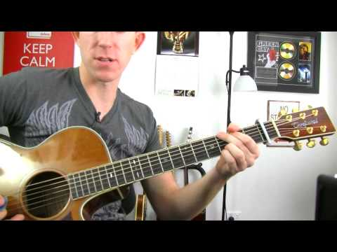 Guitar Lesson - Just Like Jesse James - Cher ★ How To Play Acoustic Instructional Tutorial pt2