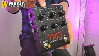 Digitech Trio+ Bandcreator with Looper - Review