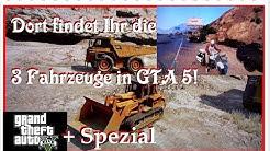 GTA 5 Bagger, Kipplaster, Polizeimotorrad + Spezial Tutorial LIVE (HD/Deutsch)