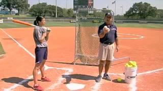 Toss Drills - Basics of Softball Hitting