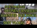 Drone Dji Phantom 3 Flying Away in Staten Island Haunted Colony - Part 1 of 2