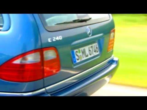E-class Estate s210 - video review
