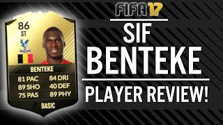 FIFA 17 SECOND IN FORM CHRISTIAN BENTEKE (86) PLAYER REVIEW! | FIFA 17 ULTIMATE TEAM(, 2016-12-07T21:14:27.000Z)