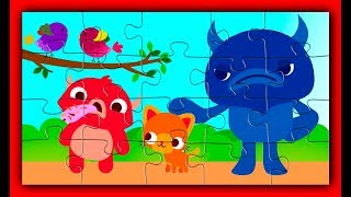 Funny Endless Puzzle & Song For Kids with  Endless Monsters