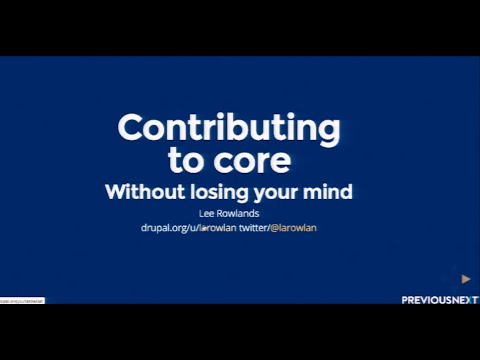 Contributing to Core without losing your mind