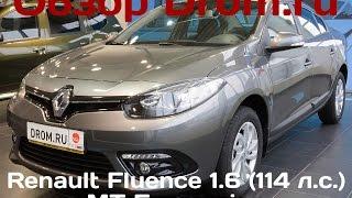 Renault Fluence 2012 1.6 (114 л.с.) MT Expression - видеообзор