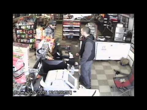 Robbery Video of Savings Spot in OKC