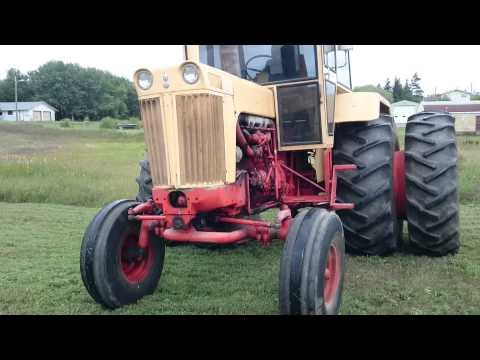 1967 Case 1030 Tractor - Sam Taylor