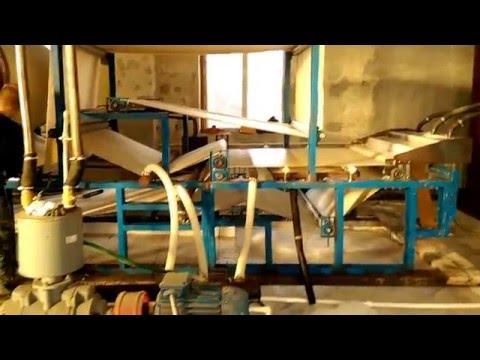 Бумагоделательная машина, производство туалетной бумаги
