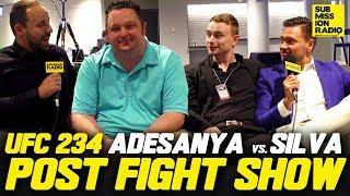 UFC 234: Adesanya vs. Silva Post-Fight Reaction