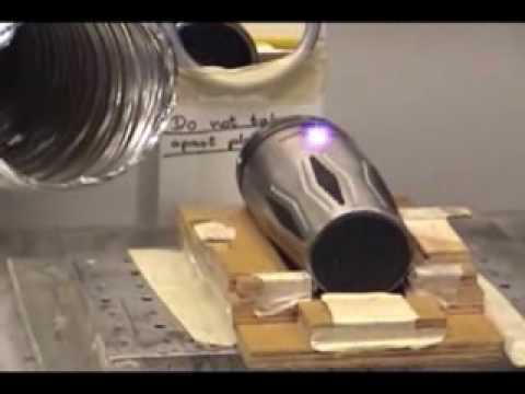 Laser Engraving Using A YAG Laser.