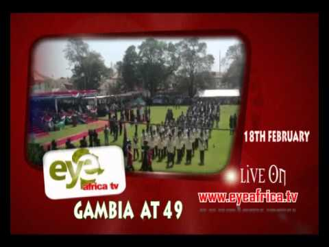 EYE AFRICA TV ON GAMBIA'S INDEPENDENCE DAY CELEBRATION 2