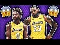 How LeBron James Will Play with His Son Bronny in the NBA!