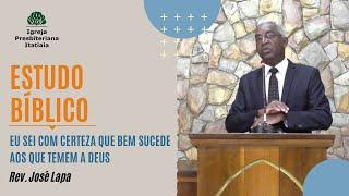 Estudo Bíblico (23/07/2020) - Igreja Presbiteriana Itatiaia