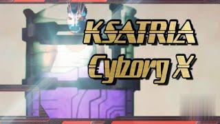Free Fire Ksatria Cyborg X