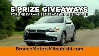 Bronco Motors Mitsubishi | Karazy Trade-In Daze Event