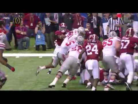 new style f78dd 927b0 Buckeye Throwback: Ezekiel Elliott Highlights vs Alabama 2014