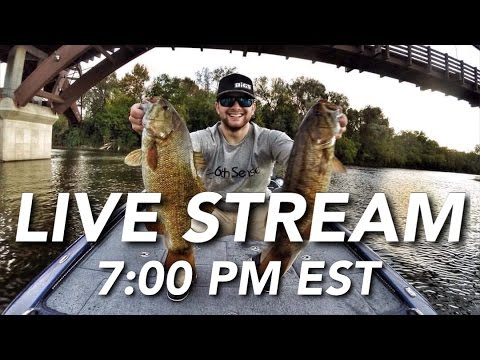 River Fishing Live Stream | Benjamin Nowak
