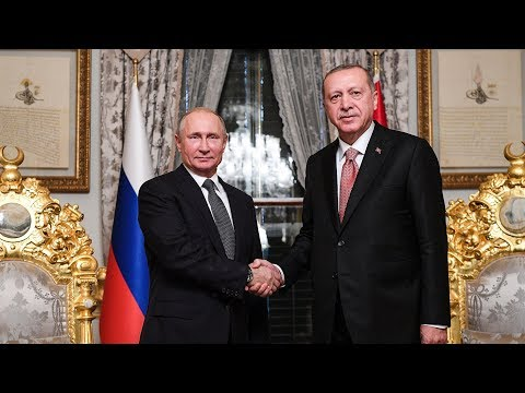 Putin, Erdogan mark completion of offshore section of Turkis