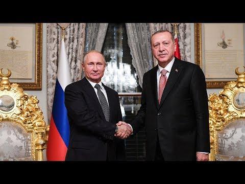 Putin, Erdogan mark completion of offshore section of Turkish Stream