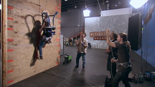 Build Your Own Wall Climber and Live Like Spiderman! | MythBusters: The Search