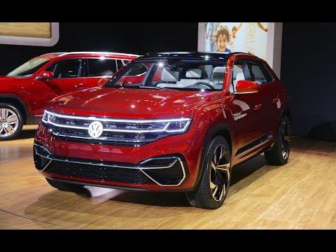 Volkswagen Atlas Cross Sport Concept - FIRST LOOK