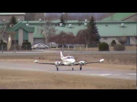 Cessna 340A Takeoff CSU3
