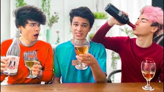 TRUTH OR DRINK WITH BRENT RIVERA!!