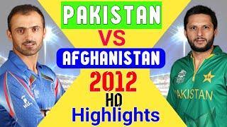 Afghanistan vs Pakistan 2012 Odi full HD highlights | Cricket highlights | Afg vs Pak | pak vs afg |