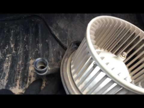 Chevrolet Lanos 2006 г.в. не работает вентилятор печки, заслонка подачи воздуха в салон.