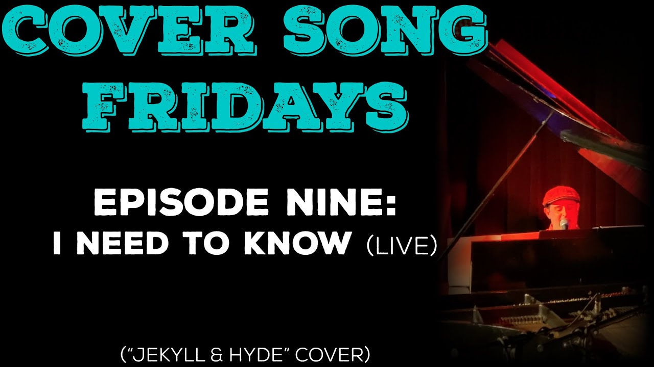 Cover Song Fridays: Episode 9