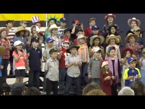 Hats! 3rd Grade Music Program 2017
