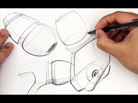 Industrial Design Sketching LINE WEIGHT Ideation Sketching