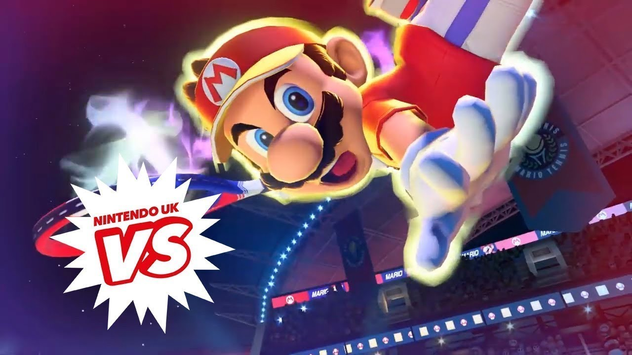 Mario Tennis Aces - Tournament Final from Nintendo UK VS Live: London