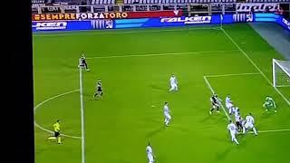 Toro-Cosenza gol di Rincon